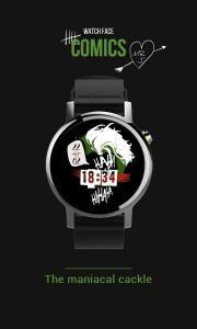 Joker Watch Face Ha-Ha apk