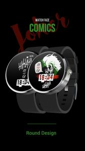 Joker Watch Face Ha-Ha apk free