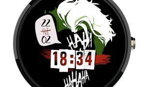 Joker Watch Face Ha-Ha