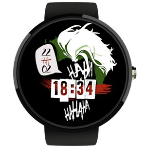 Joker Watch Face Ha-Ha