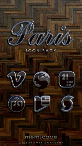 Paris Icon Pack apk