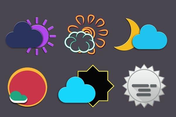 Zai3 Weather Komponents Kustom apk