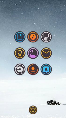 dARK Icon Pack apk