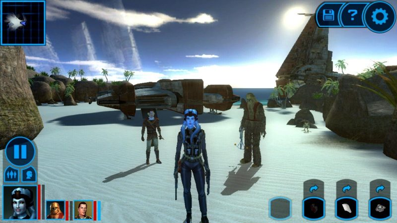 Star Wars KOTOR Android