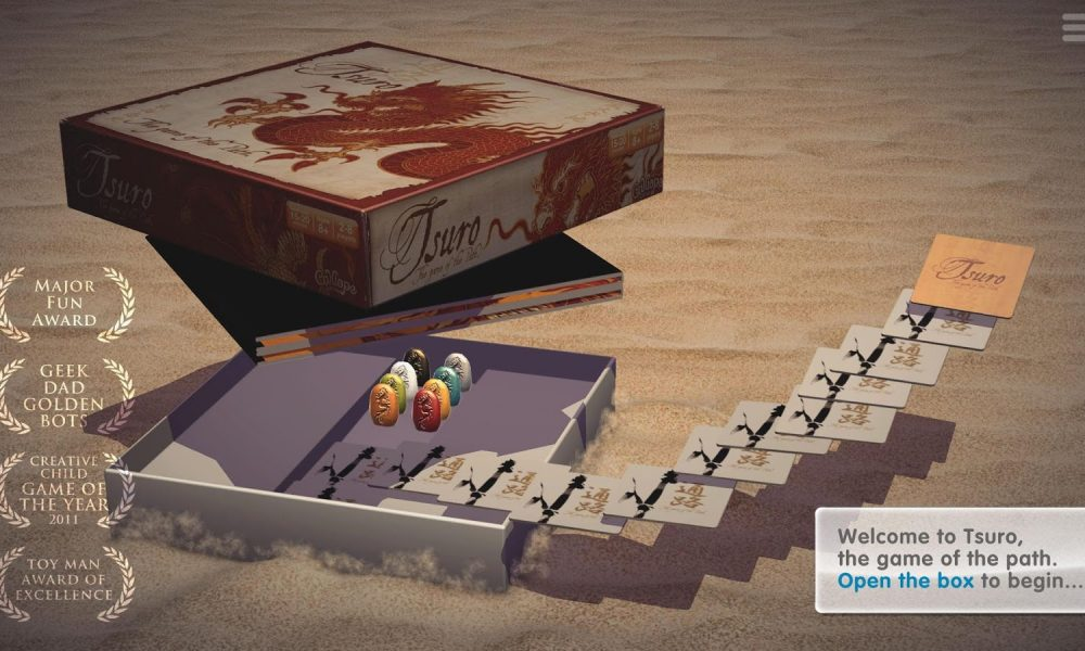 Tsuro The Game of the Path Android
