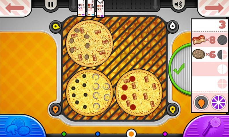 Papa's Pizzeria To Go! Android Free Download