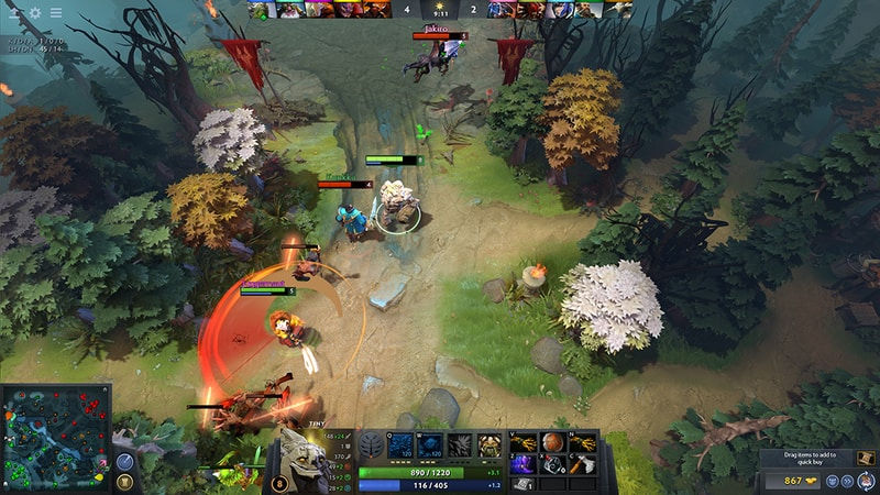 Dota 2 Android Game